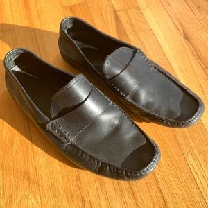 BANANA REPUBLIC men's leather loafers size 10.5
